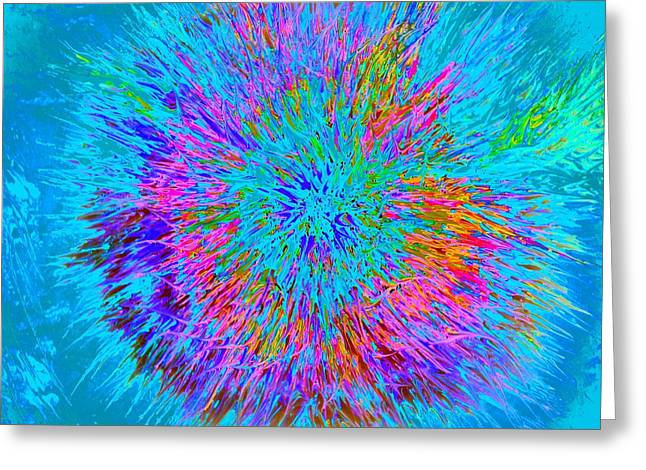 Explosion 5 Greeting Card by Nico Bielow