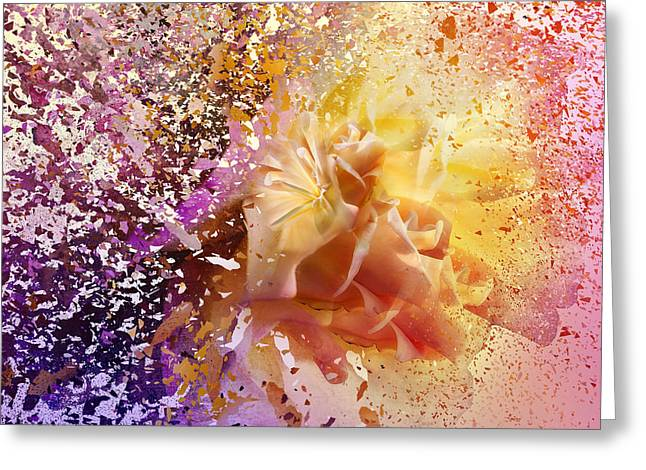 Explosion Greeting Card by Svetlana Sewell