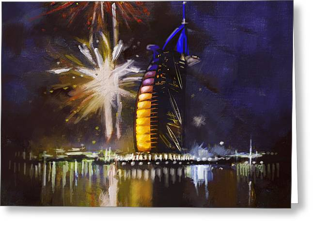 Expo Celebrations Greeting Card by Corporate Art Task Force