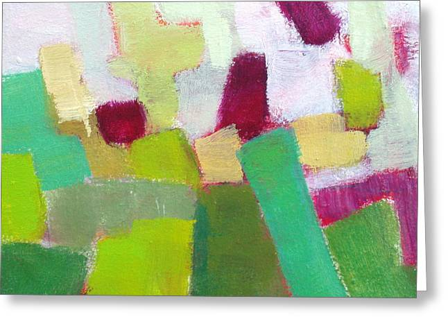 Exposed I Greeting Card by Virginia Dauth
