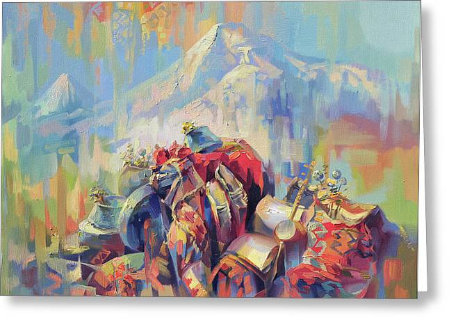 Expression Of Armenia Greeting Card by Meruzhan Khachatryan