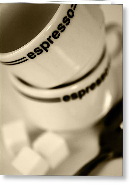 Expresso Greeting Card