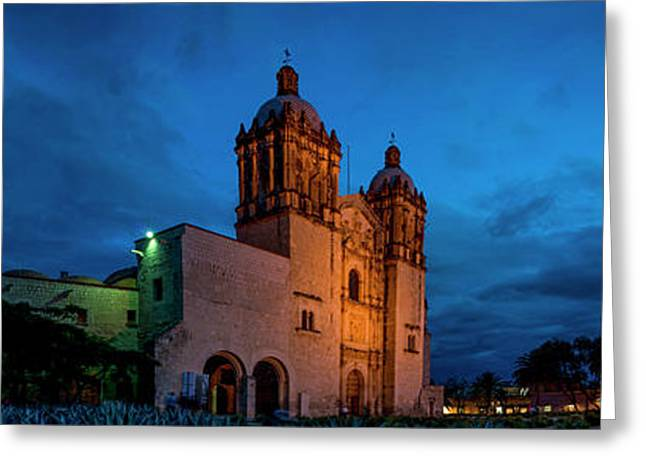 Exterior Of A Church, Santo Domingo Greeting Card