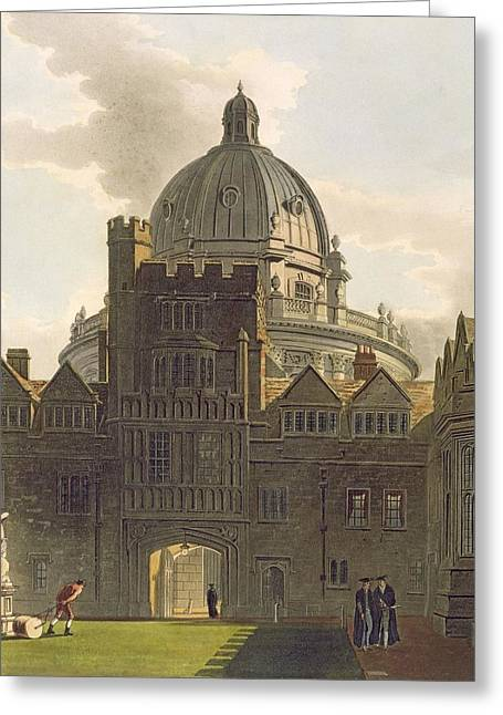 Exterior Of Brasenose College Greeting Card