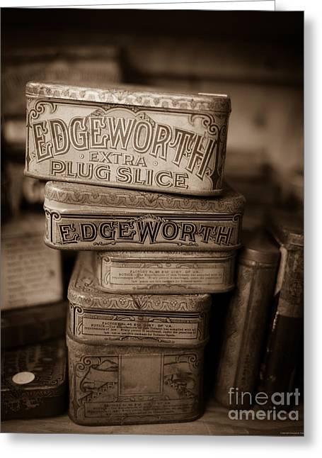 Extra Plug Slice Antique Vintage Tobacco Greeting Card by Edward Fielding