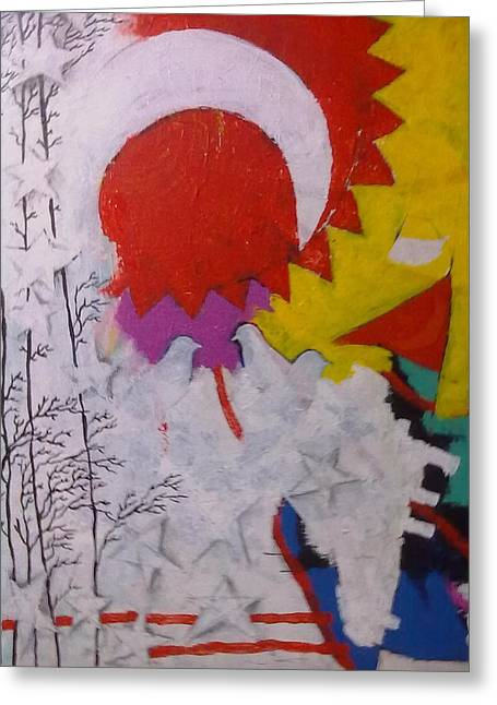 Extraordinary Defacto Greeting Card by Sahid Ahmed