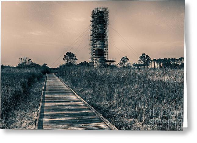Extreme Makeover Lighthouse Edition Greeting Card