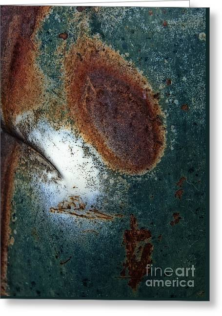 Extremophile Abstract Greeting Card
