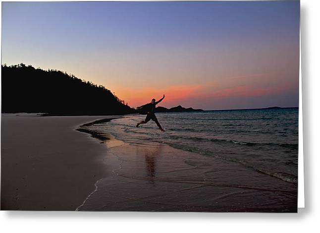 Greeting Card featuring the photograph Exuberance by Debbie Cundy