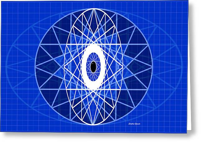 Structural Eye Greeting Card