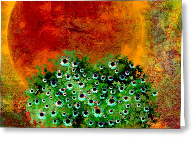 Eye Like Apples Greeting Card by Ally  White