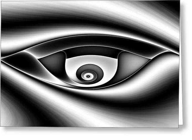 Eye Of A Stranger No. 1 Greeting Card by Mark Eggleston