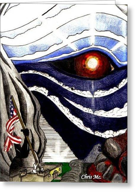 Eye Of Orion Greeting Card by Chris Mc