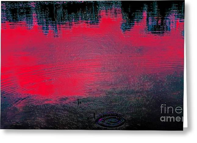 Create Reality Abstract Greeting Card