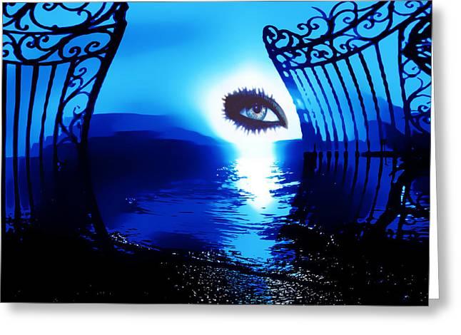Eye Of The Beholder Greeting Card by Eddie Eastwood