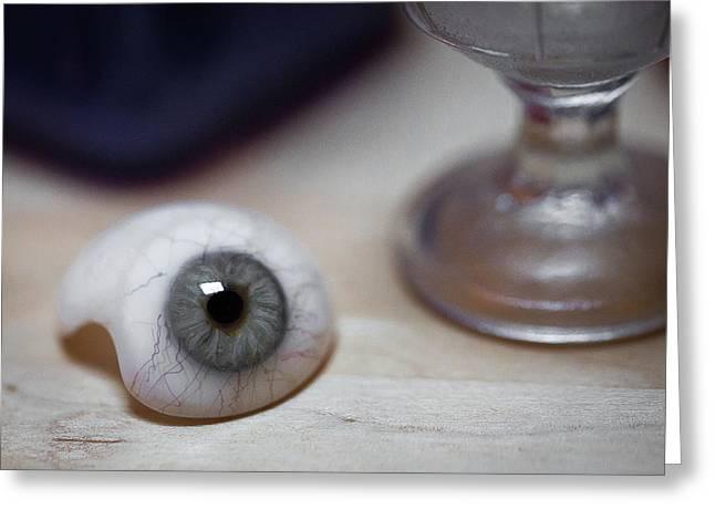 Eye Of The Beholder Greeting Card by Sara Hudock