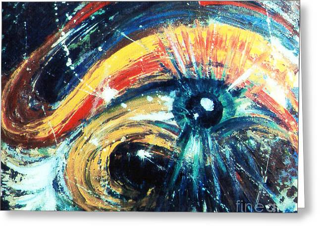 Eye Of The Beholder Greeting Card by Stephen Brooks