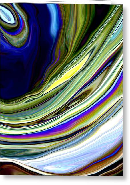 Eye Of The Storm Greeting Card by Linnea Tober
