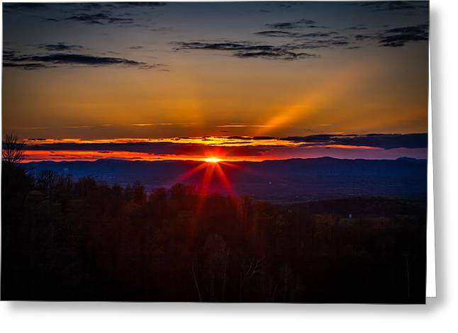 Eye On The Horizon Greeting Card by Jerry Mattice