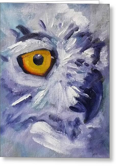 Eye On You Greeting Card by Nancy Merkle