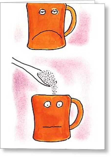 Eye-opener Greeting Card