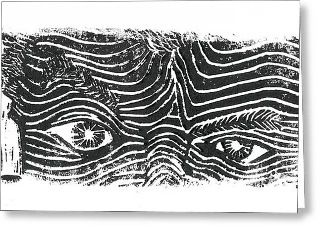 Eye Spy Greeting Card by Jame Hayes