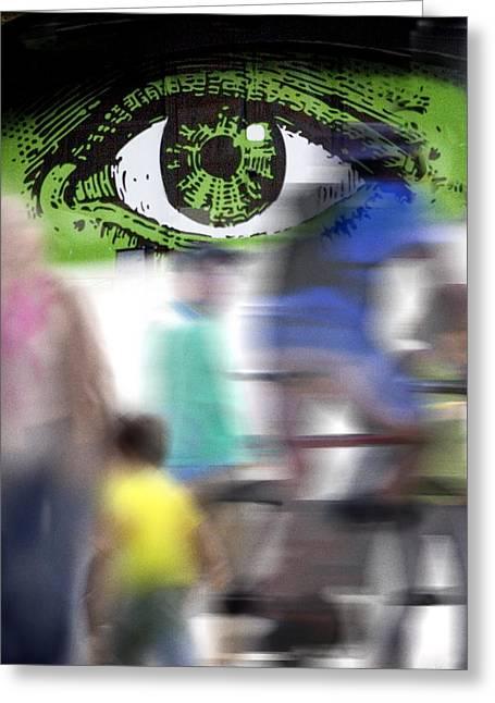 Eye Spy Greeting Card by Richard Piper