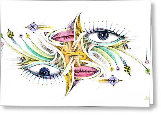 Eyelegan Greeting Card