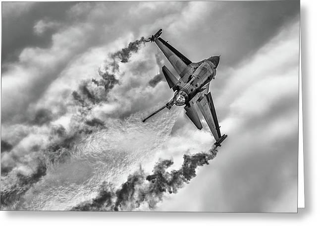 F-16 Solo Turk... Greeting Card by Rafa? Czernia