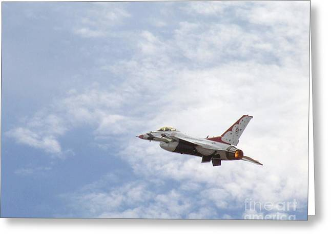 F-16 Thunder Greeting Card