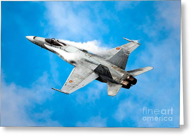 F-18 Fighter Greeting Card