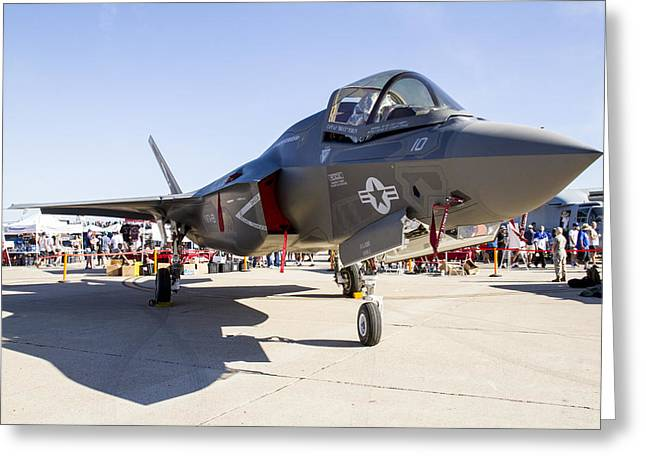 F-35 Greeting Card