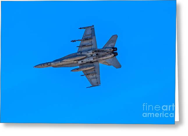 F-35 Lightning Jet Greeting Card by Robert Bales