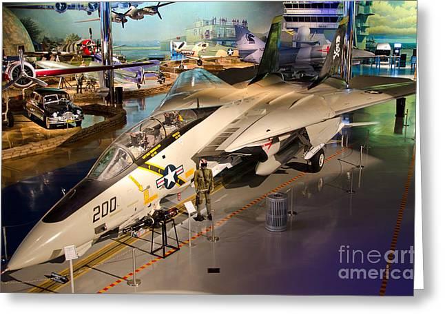 F14 Tomcat Greeting Card