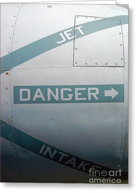 f4 Phantom jet  Greeting Card by Micah May