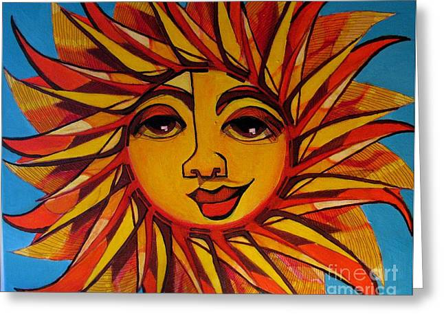 Fabulous Fanny - Here Comes The Sun Greeting Card