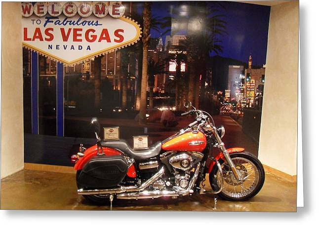 Fabulous Las Vegas Greeting Card by James Welch