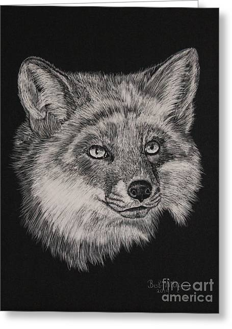Fabulous Mr. Fox Greeting Card