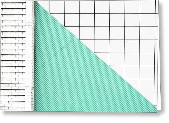 Facade Geometry Greeting Card