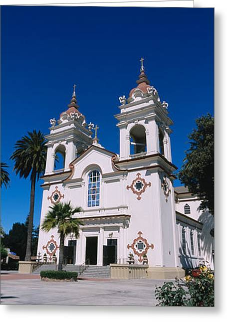 Facade Of A Cathedral, Portuguese Greeting Card