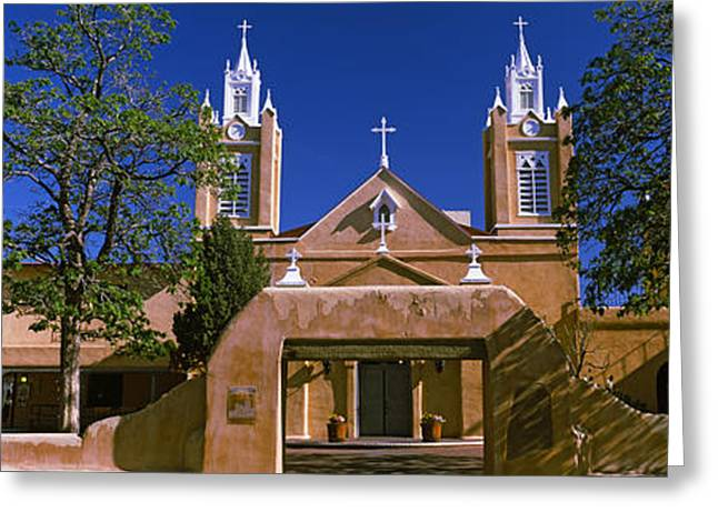Facade Of A Church, San Felipe De Neri Greeting Card