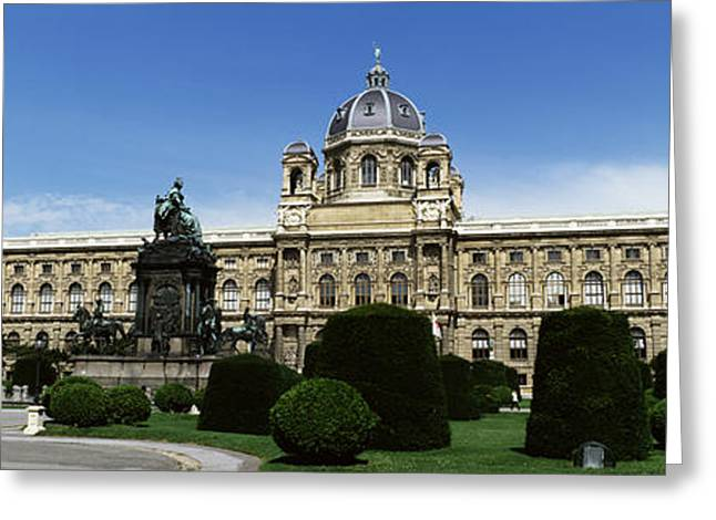 Facade Of A Palace, Schonbrunn Palace Greeting Card by Panoramic Images