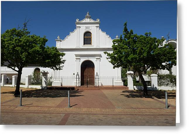 Facade Of Rhenish Mission Church Greeting Card
