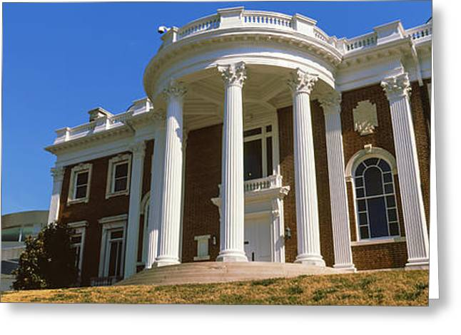 Facade Of The Faxon-thomas Mansion Greeting Card
