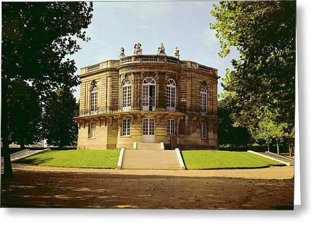 Facade Of The Pavillon De Hanovre Photo Greeting Card