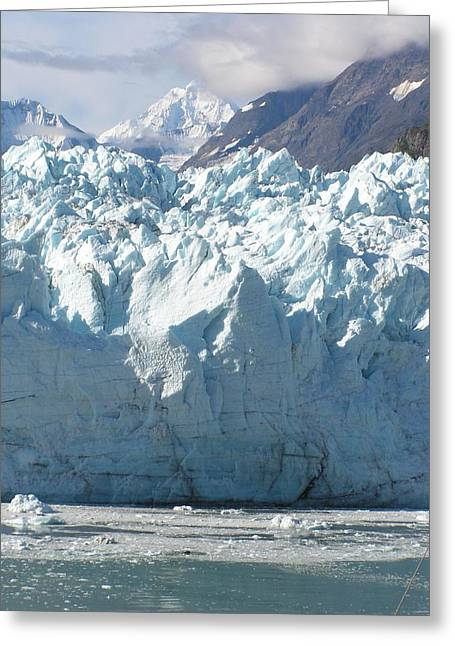 Face Of A Giant In Alaska Greeting Card