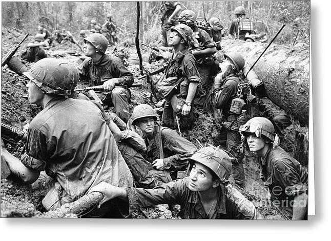 Faces Of War - Phuoc Vinh Greeting Card