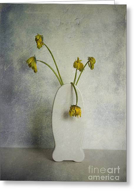 Withered Flowers Greeting Card
