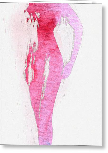 Fading Beauty Greeting Card