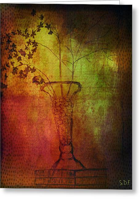 Fading Memory  Greeting Card by Sherry Flaker